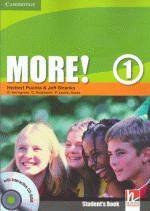 MORE ! 1 STUDENTS BOOK