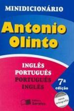 Minidicionario Antonio Olinto - Ingles-Portugues / Portugues-Ingles