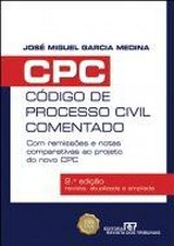 Cpc Código de Processo Civil Comentado