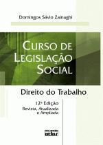 Curso De Legislacao Social - 14Ed/15