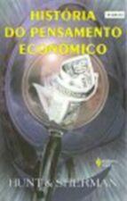 Historia Do Pensamento Economico - Livro Novo!