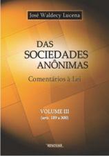 Das Sociedades Anonimas Vol 3