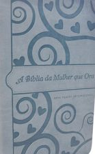 BIBLIA DA MULHER QUE ORA A /NV1/ AZUL 57199