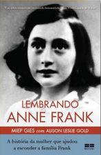 LEMBRANDO ANNE FRANK