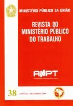 REVISTA DO MINISTÉRIO PÚBLICO DO TRABALHO - N. 39