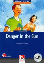 Danger In The Sun With Cd - Intermediate