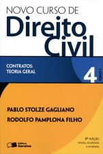 Novo Curso De Direito Civil 4 - Tomo 1 - Contratos - Teoria Geral