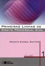 Primeiras Linhas de Direito Processual Civil - Volume 1 - 29ª Ed.