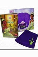 Princesa e o Sapo a Box Com Livro Camiseta Bata