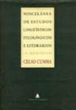 Miscelânea de Estudos Linguísticos, Filológicos e Literários ...
