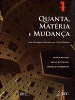 Quanta, Matéria e Mudanca: Uma Abordagem Molecular para a Físico-Química - Vol. 1
