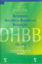Dicionário Histórico-biográfico Brasileiro, Pós-1930 - 05 Volumes
