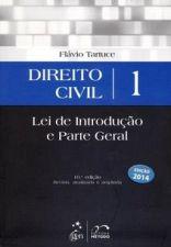 Direito Civil 1 - Lei de Introdução e Parte Geral 10ª Edição