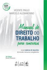 Manual de Direito do Trabalho - Caderno de Questões