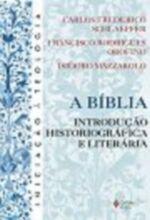 A Biblia : Introduçao Historiografica e Literaria de Carlos F. Schlaepfer / Francisco R. Orofino / Isid pela Vozes (2004)