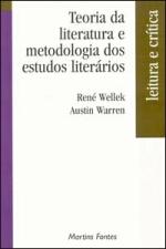 Teoria da Literatura e Metodologia dos Estudos Literários