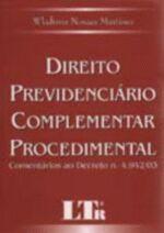 Direito Previdenciário Complementar Procedimental