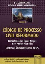 Código de Processo Civil Reformado - Vol.2 - 8ªEd. - Teoria e Prática