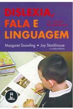 Dislexia Fala e Linguagem Um Manual do Profissional