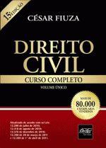 Direito Civil - Curso Completo - Volume único