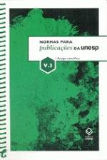 Normas para Puplicações da unesp - Vol. 3