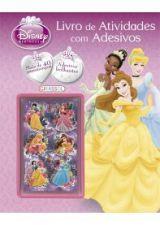 Disney Princesa: Livro de Atividades com Adesivos