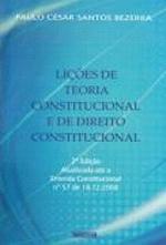 Licoes de Teoria Constitucional e de Direito Constitucional